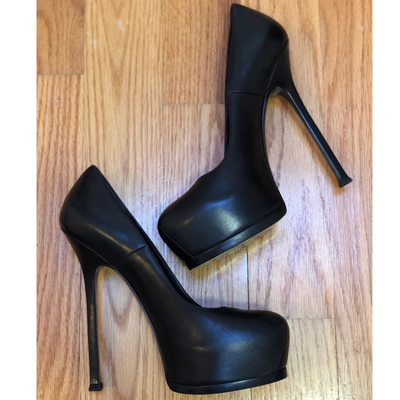 827fdcdb66c Yves Saint Laurent Shoes | Platform Pumps | Poshmark